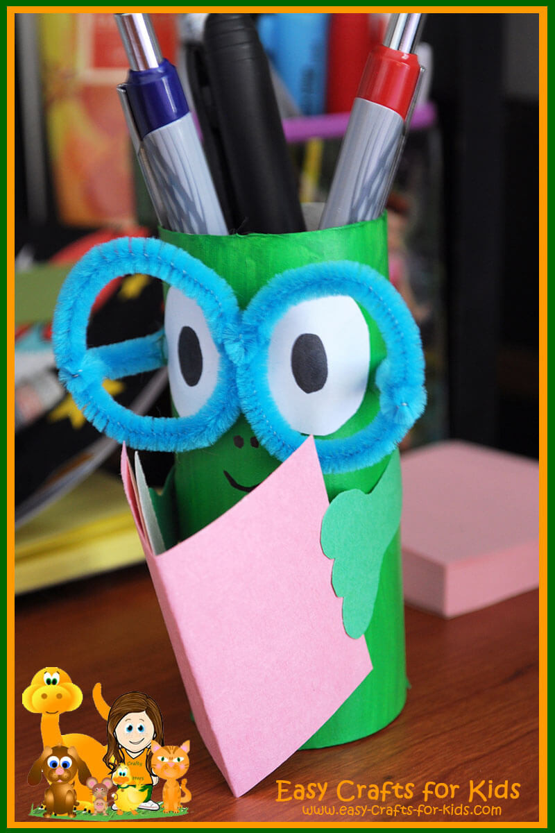 Crafts For Kids  Pencil Holder Crafts for Kids Get ready for back to school