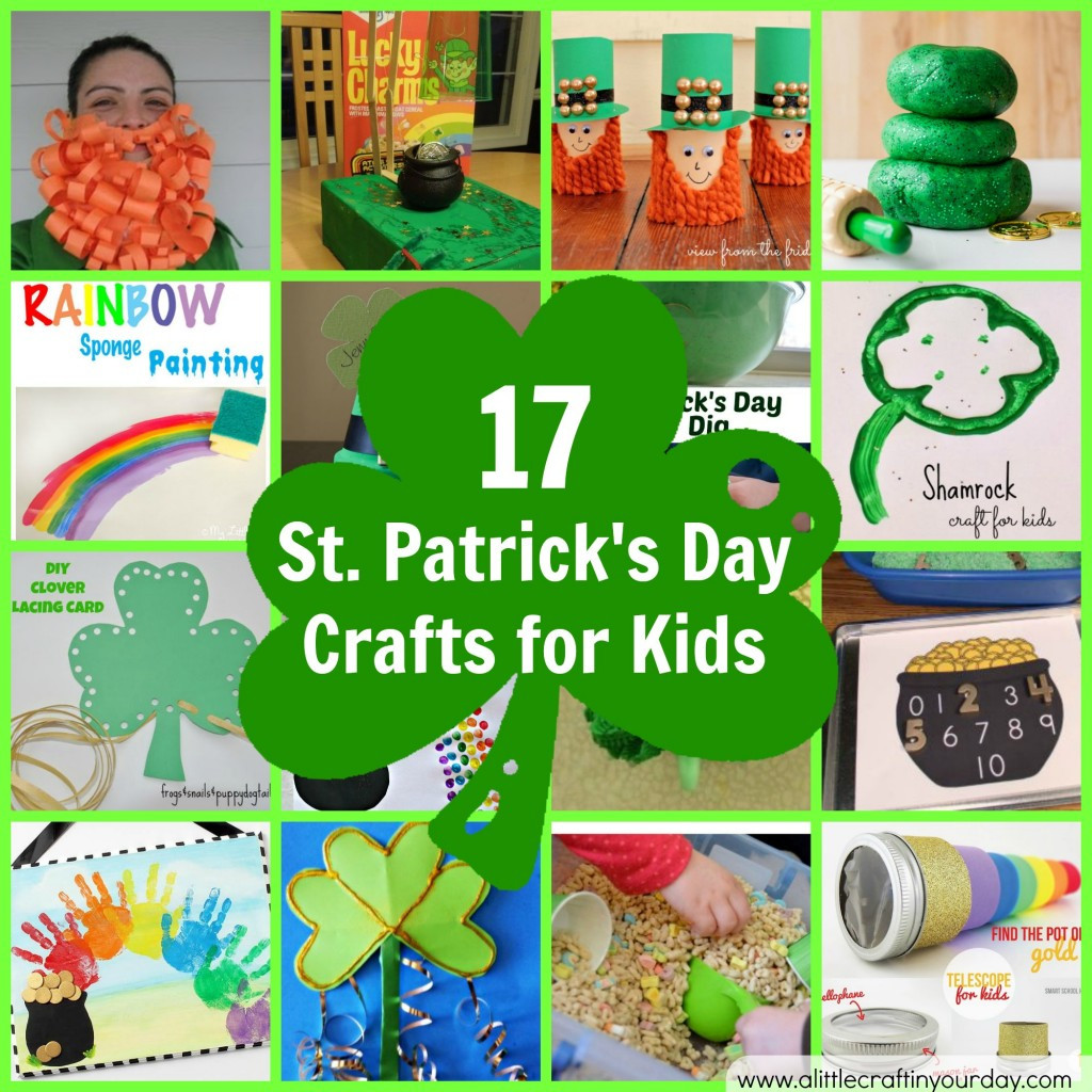 Crafts For Little Kids  17 St Patrick s Day Crafts for Kids A Little Craft In