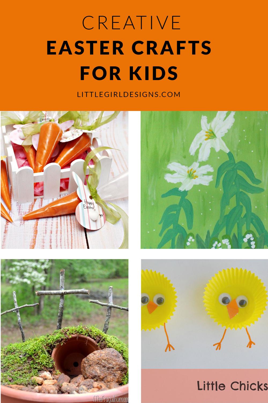 Crafts For Little Kids  Creative Easter Crafts for Kids Little Girl Designs