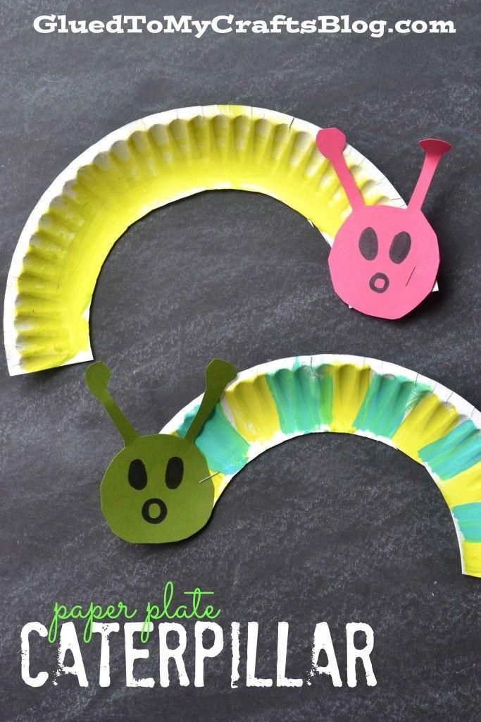 Crafts For Little Kids  Paper Plate Caterpillar Kid Craft Garden Club