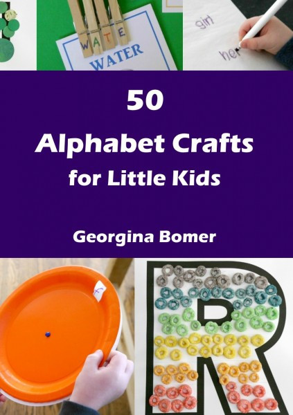 Crafts For Little Kids  50 Alphabet Crafts for Little Kids Craftulate