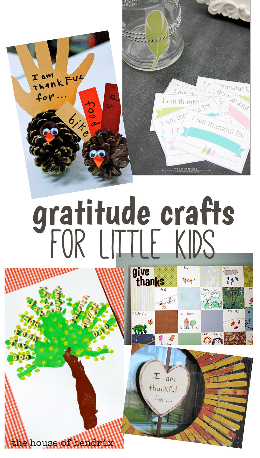 Crafts For Little Kids  10 Creative Gratitude Crafts for Big and Little Kids