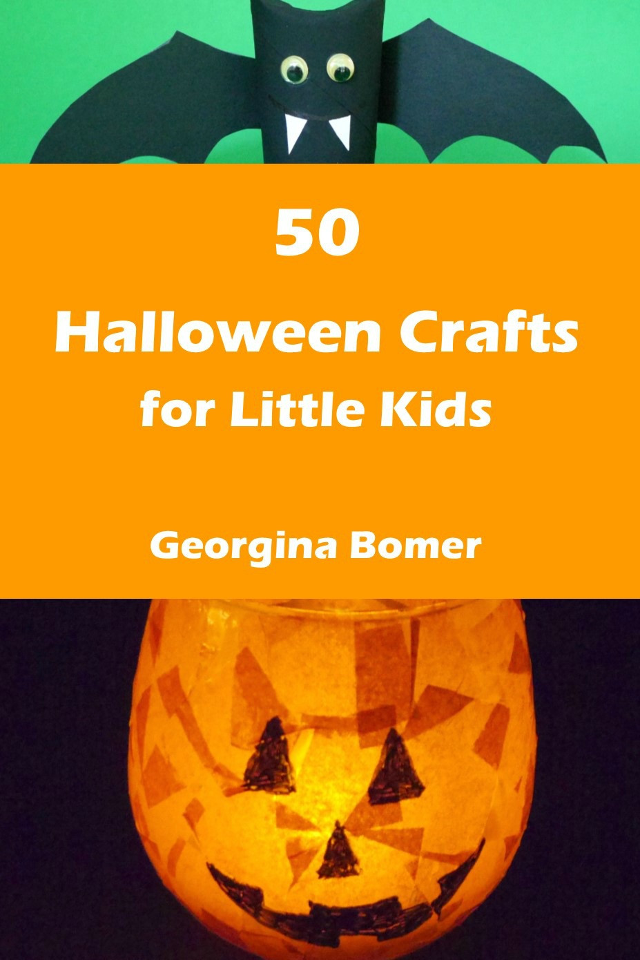 Crafts For Little Kids  50 Halloween Crafts for Little Kids the book Craftulate