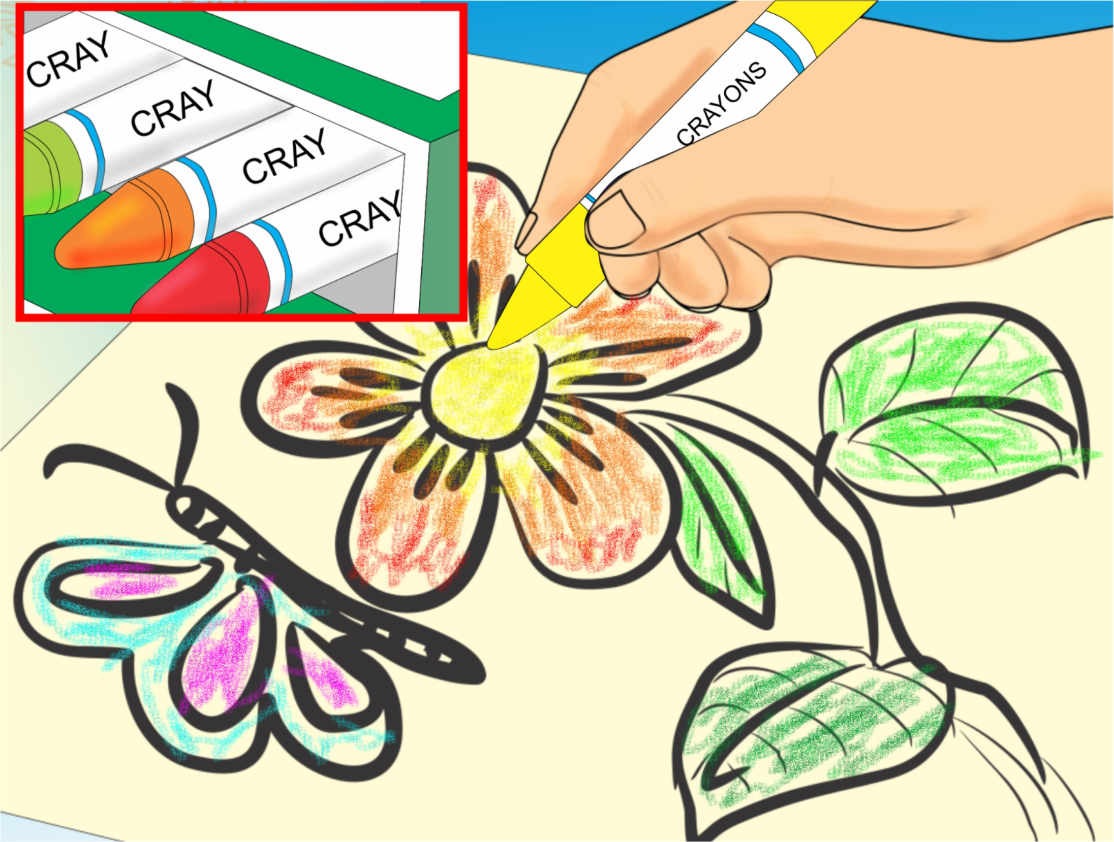Create A Coloring Book  How to Make a Coloring Book for Young Children 6 Steps