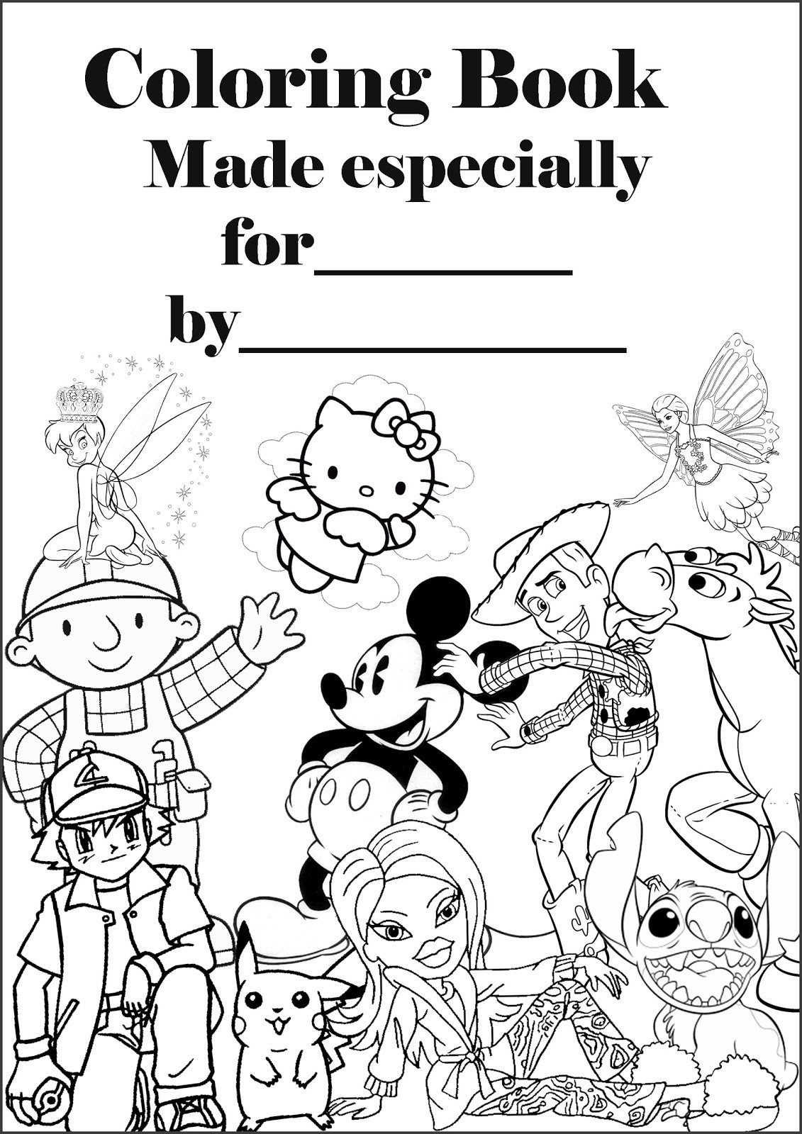 Create A Coloring Book  SPONGEBOB COLORING PAGES