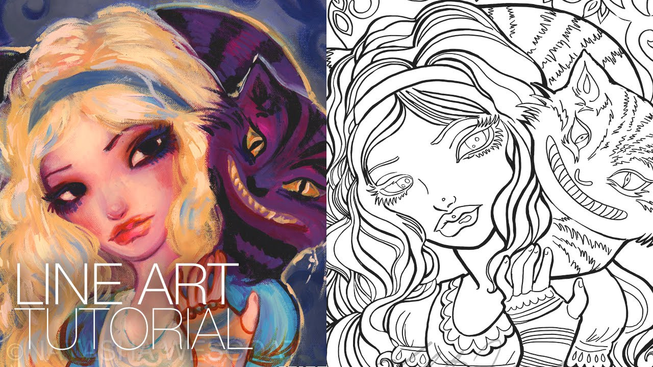 Create A Coloring Book  How to Create a Coloring Page shop CS6