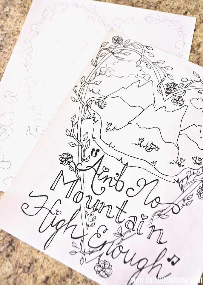 Create A Coloring Book  Create Your Own Coloring Pages A Step by Step Guide
