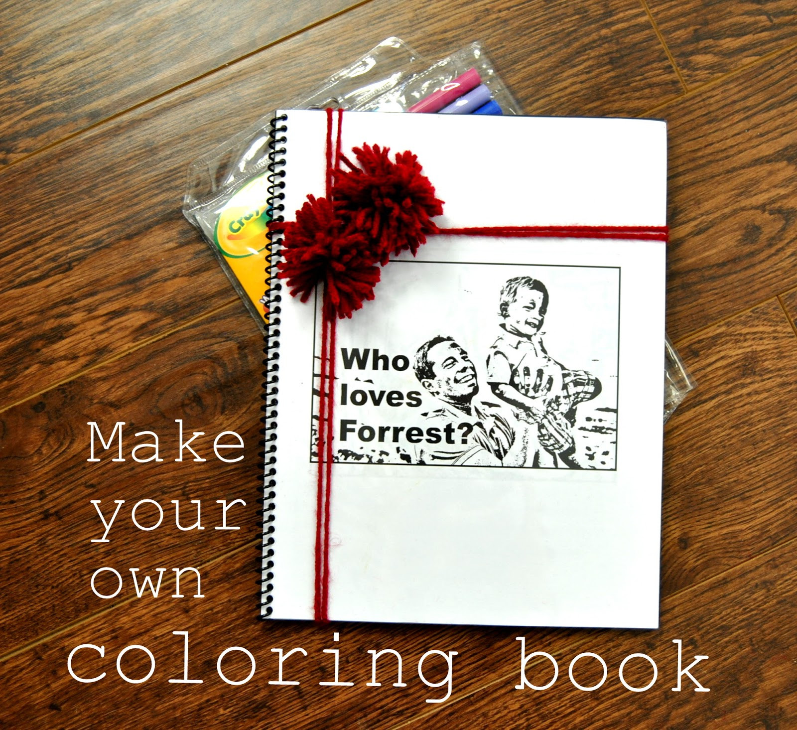 Create A Coloring Book  EAT SLEEP MAKE SYS Make Your Own Coloring Book Rachel