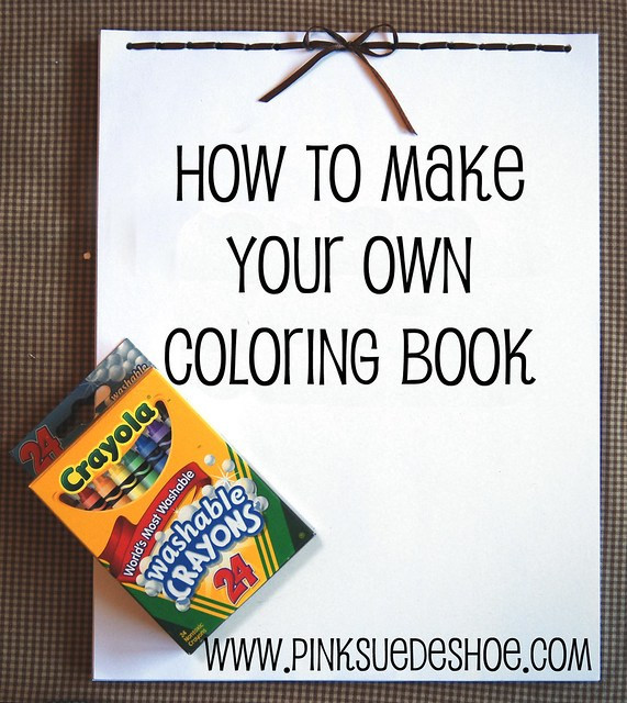 Create A Coloring Book  Make Your Own Coloring Book