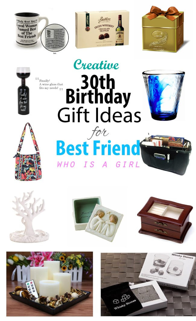 Creative Gift Ideas For Girlfriend  Creative 30th Birthday Gift Ideas for Female Best Friend