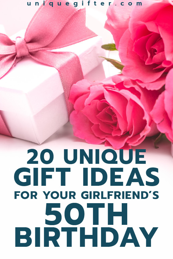 Creative Gift Ideas For Girlfriend  Gift Ideas for your Girlfriend s 50th Birthday