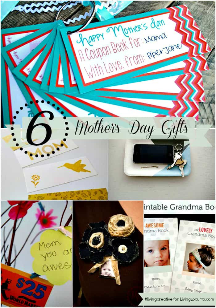Creative Mother'S Day Gift Ideas  Mother s Day Gift Ideas with Free Printables