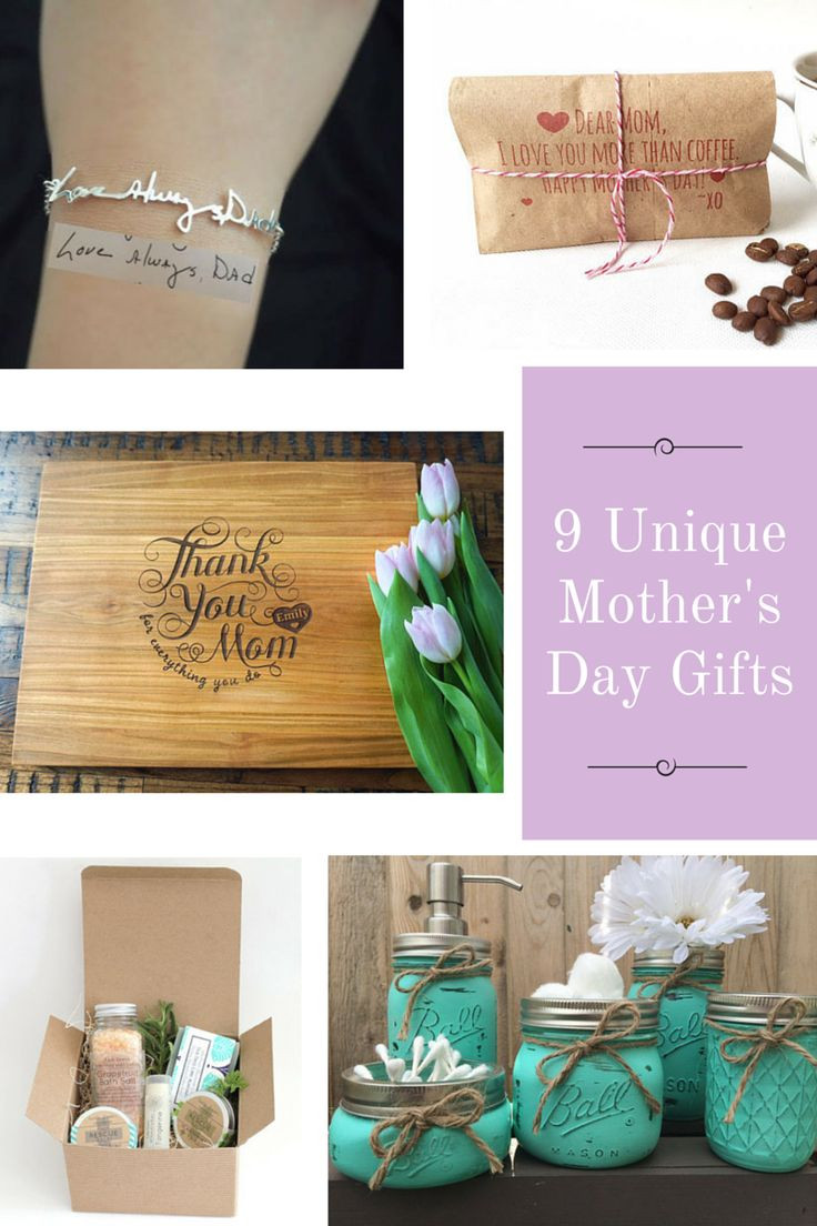 Creative Mother'S Day Gift Ideas  Best 25 Unique Mothers Day Gifts ideas on Pinterest