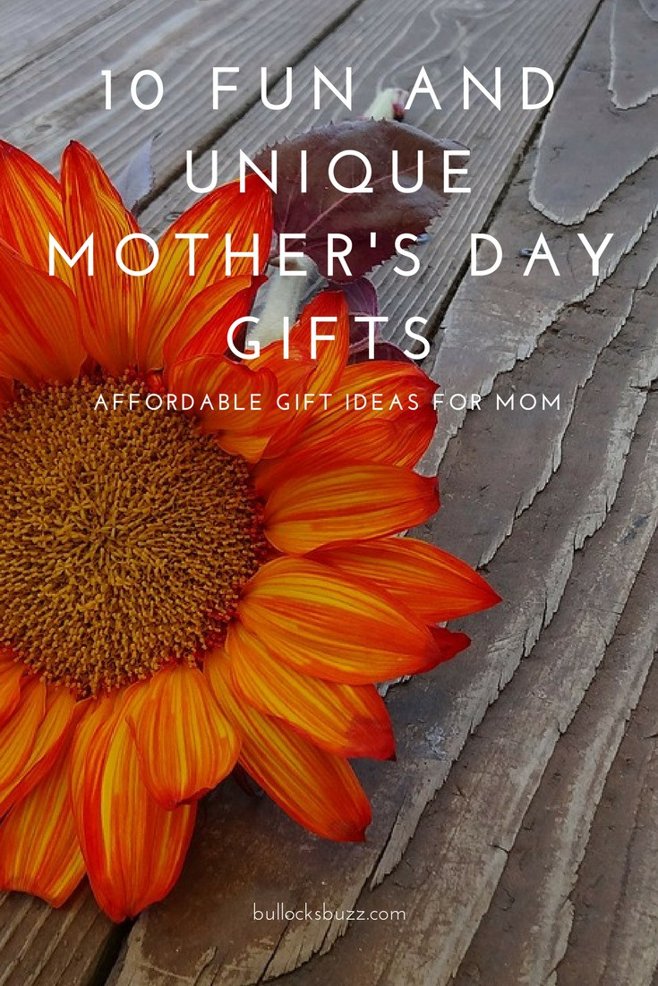 Creative Mother'S Day Gift Ideas  10 Fun and Unique Mother s Day Gifts Affordable Gift
