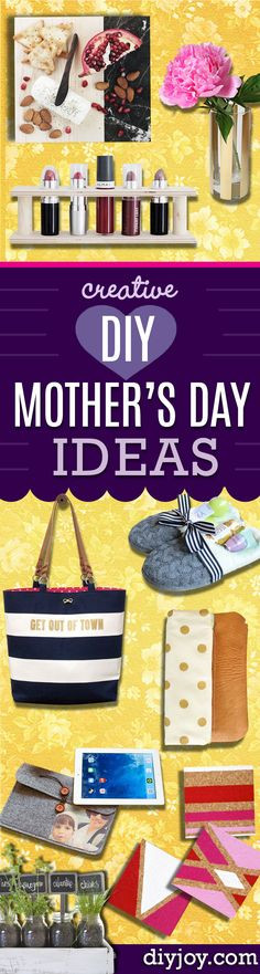 Creative Mother'S Day Gift Ideas  Creative DIY mothers day t baskets ideas to make at