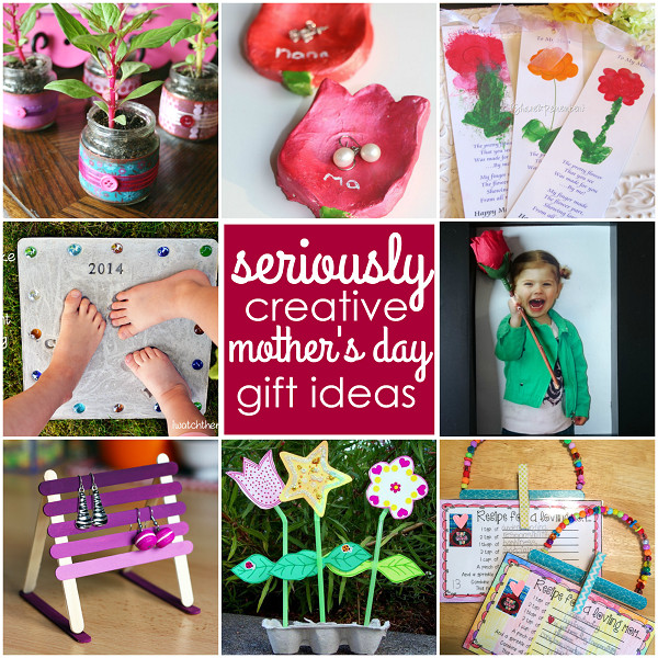 Creative Mother'S Day Gift Ideas  Seriously Creative Mother s Day Gifts from Kids Crafty