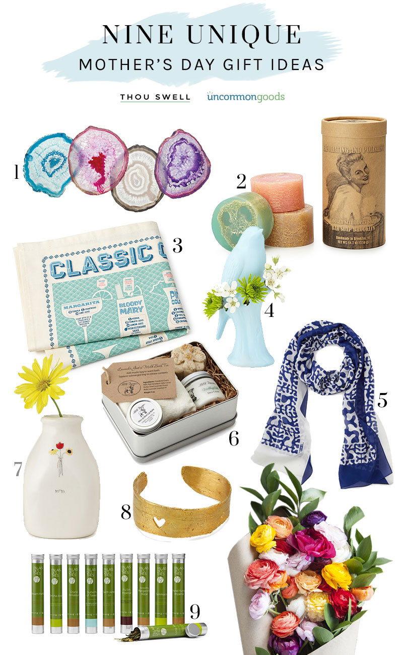 Creative Mother'S Day Gift Ideas  9 Unique Mother s Day Gift Ideas Thou Swell