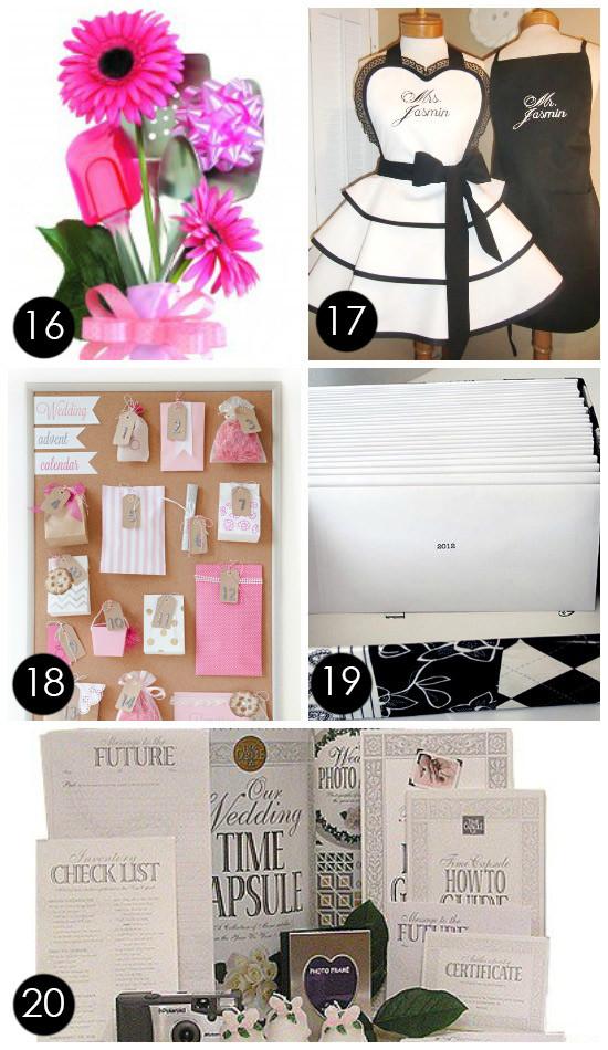 Creative Wedding Gift Ideas  60 BEST Creative Bridal Shower Gift Ideas