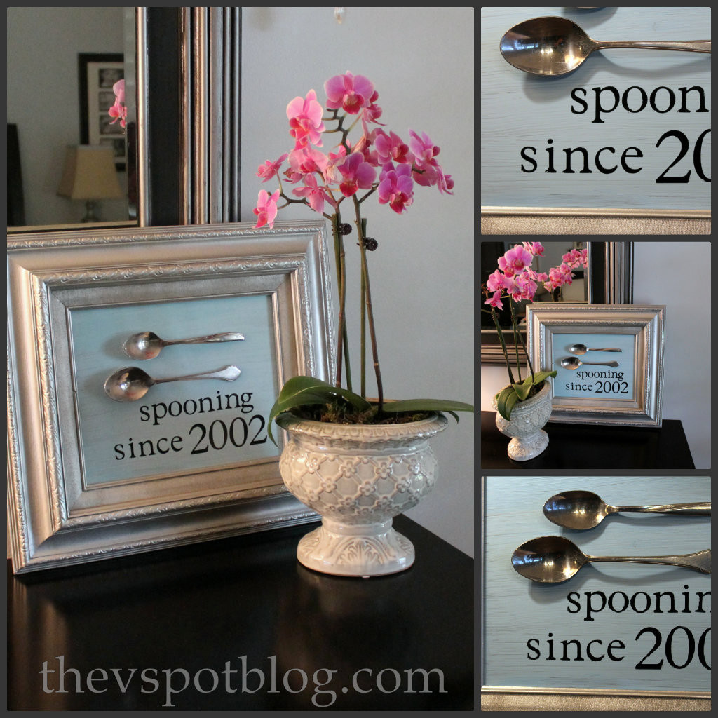 Creative Wedding Gift Ideas  A DIY personalized wedding or anniversary t for less