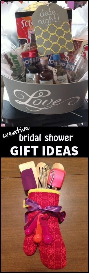 Creative Wedding Gift Ideas  Creative bridal shower t ideas Gift ideas