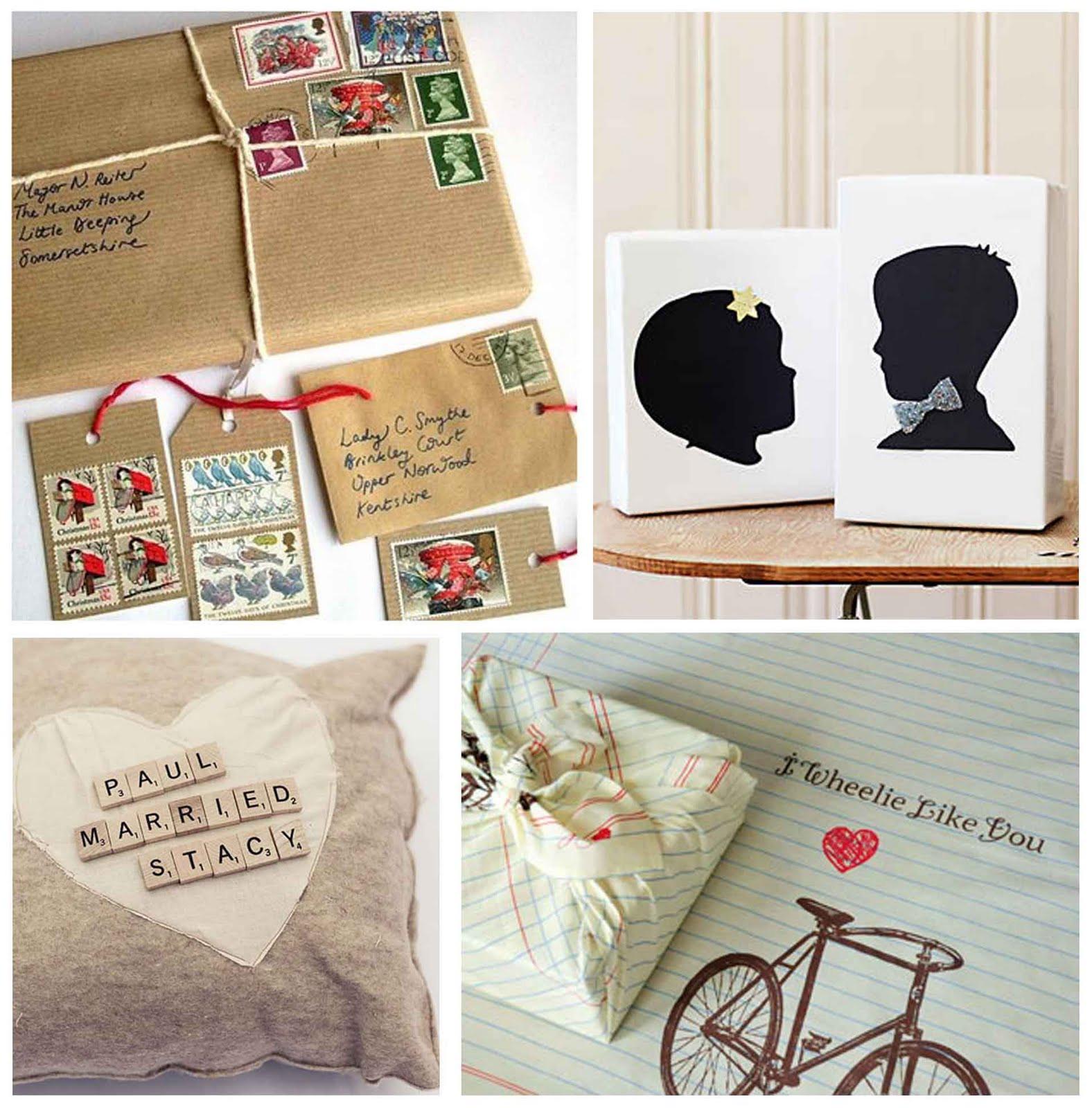 Creative Wedding Gift Ideas  Simply Fun Stuff Creative Wedding Gift Wrap Ideas