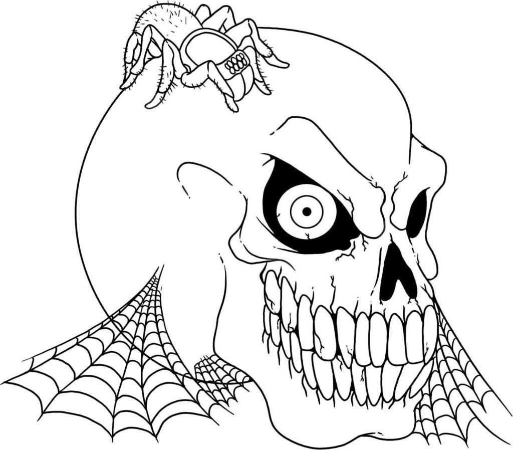 Creepy Coloring Pages  Scary Coloring Pages Best Coloring Pages For Kids