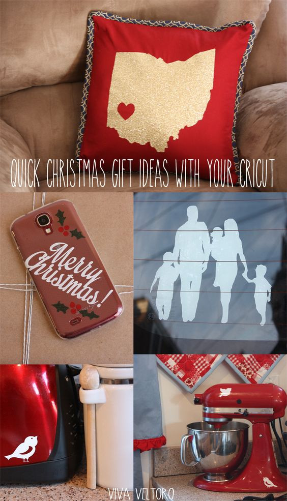 Cricut Christmas Gift Ideas  Quick Christmas Gift Ideas with your Cricut