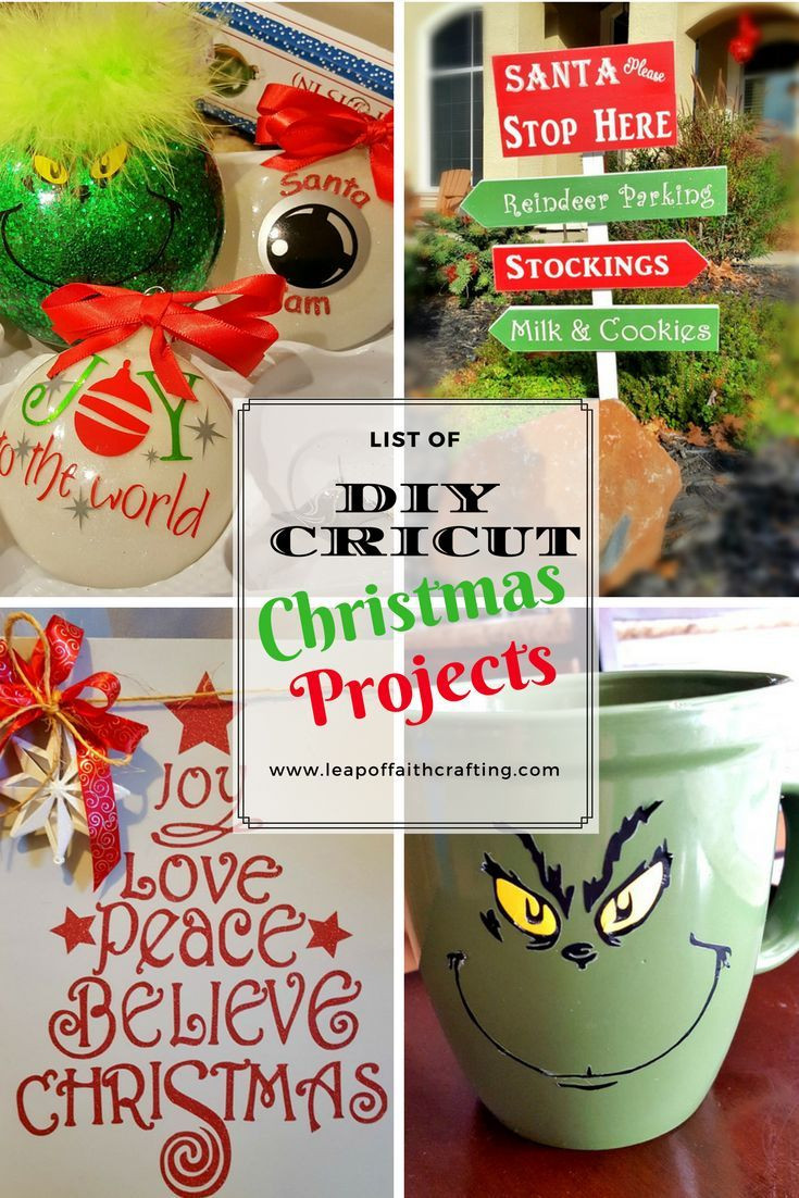 Cricut Christmas Gift Ideas  Best 25 Cricut projects christmas ideas on Pinterest