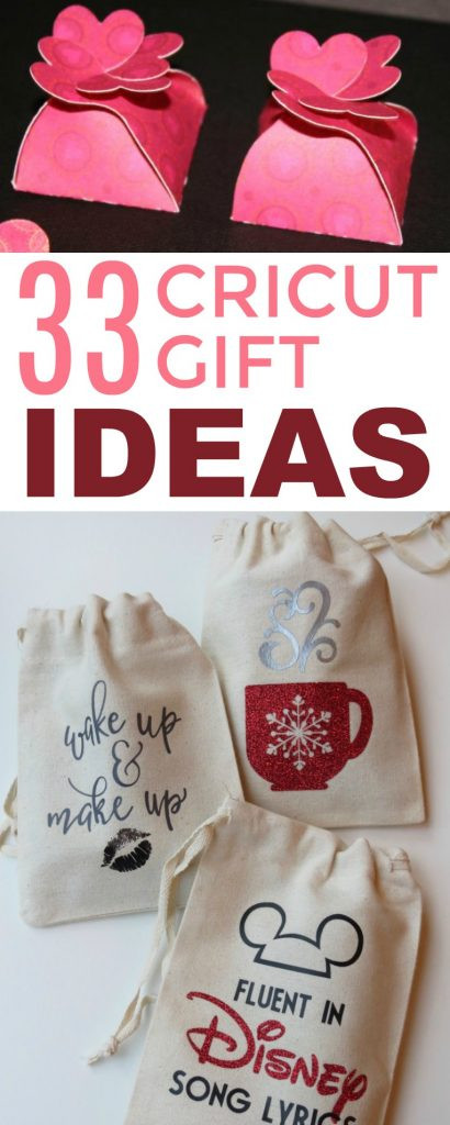 Cricut Christmas Gift Ideas  33 Cricut Gift Ideas A Little Craft In Your Day