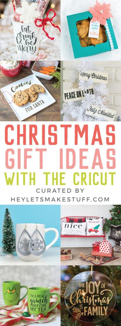 Cricut Christmas Gift Ideas  Easy Cricut Christmas Gift Ideas Hey Let s Make Stuff