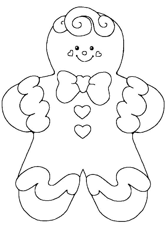 Cute Coloring Pages For Boys  Gingerbread Cute Baby Girl Coloring Pages