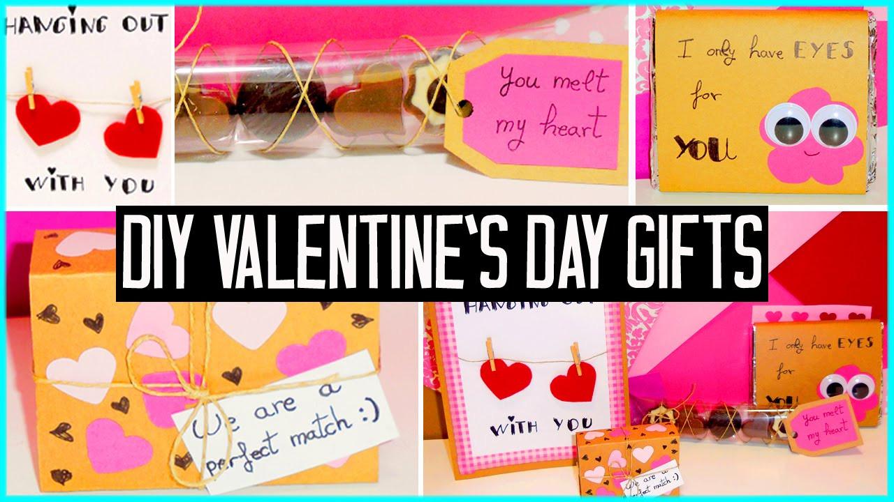 Cute Gift Ideas For Girlfriend  DIY Valentine s day little t ideas For boyfriend