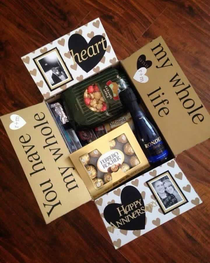 Cute Gift Ideas For Your Boyfriend  If you re running out of anniversary ideas this is simple