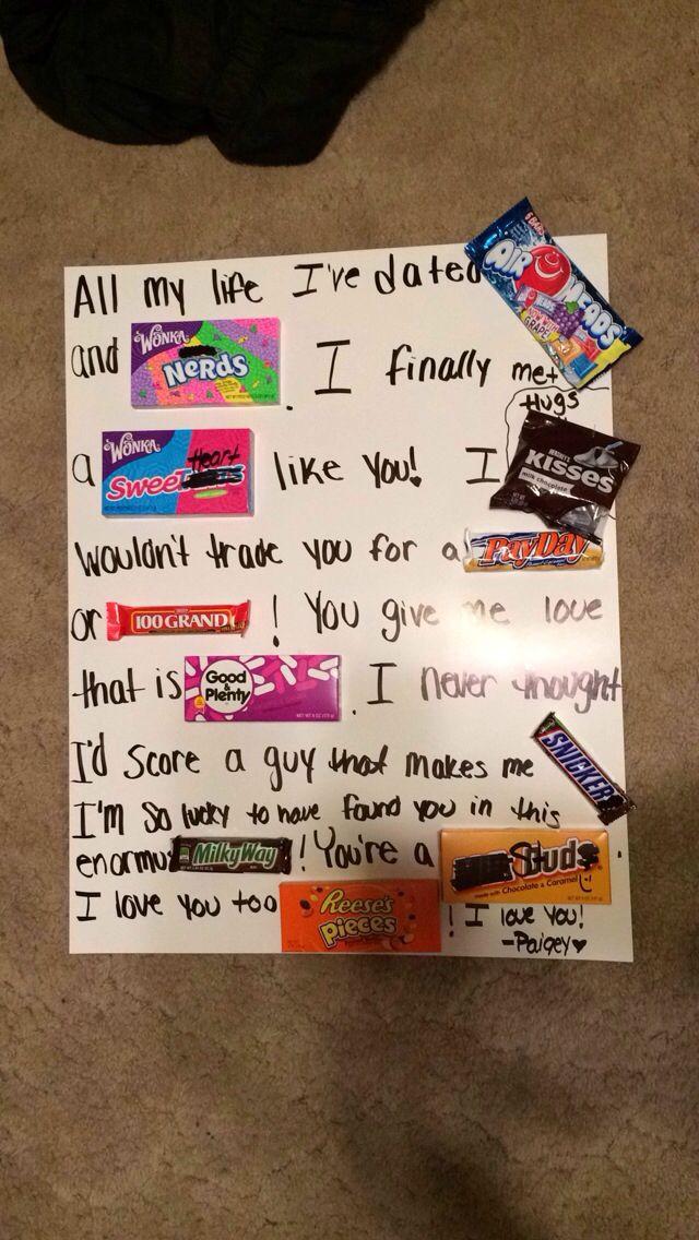 Cute Gift Ideas For Your Boyfriend  Best 25 Cute boyfriend surprises ideas on Pinterest