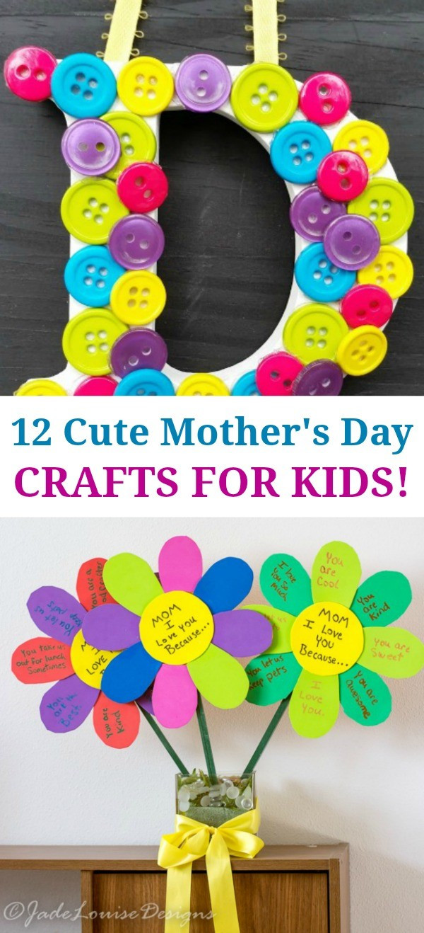 Cute Mothers Day Gift Ideas  12 Super Cute Mothers Day Crafts for Kids Such Great