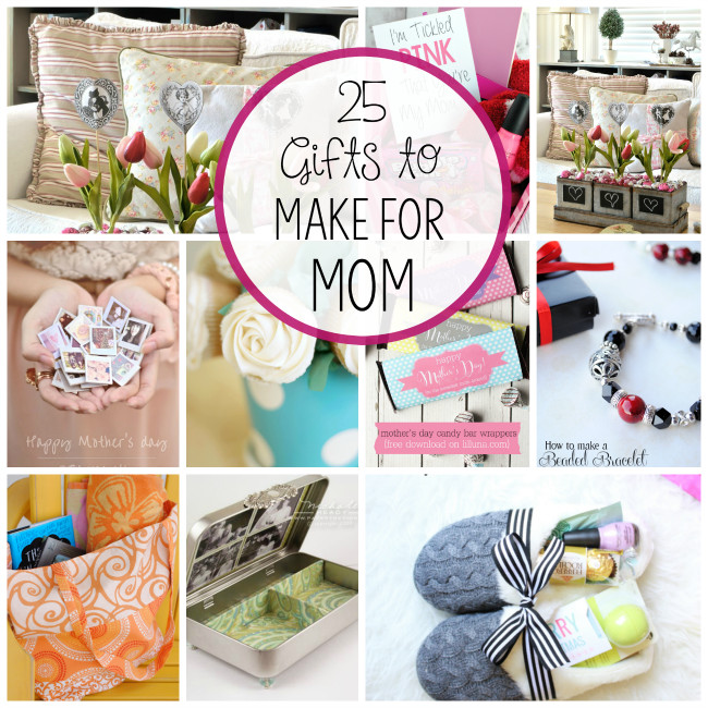Cute Mothers Day Gift Ideas  DIY Mother s Day Gift Ideas Crazy Little Projects