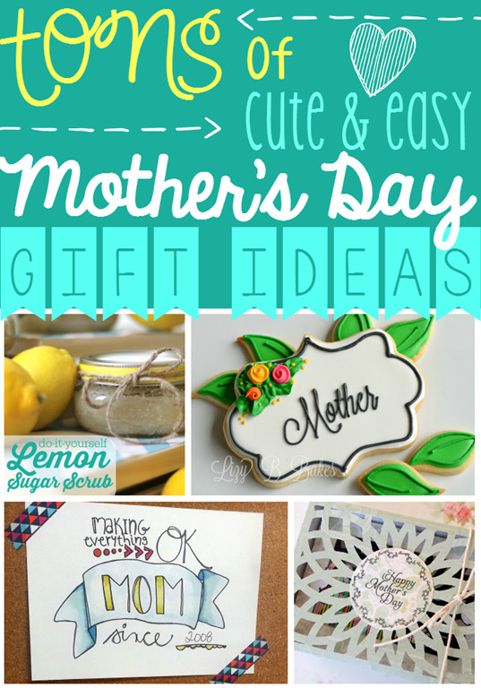 Cute Mothers Day Gift Ideas  Ginger Snap Crafts Tons of Cute & Easy Mother's Day Gift