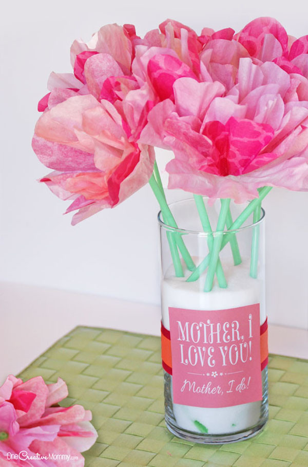 Cute Mothers Day Gift Ideas  Cute Mother s Day Gift Idea and Printables