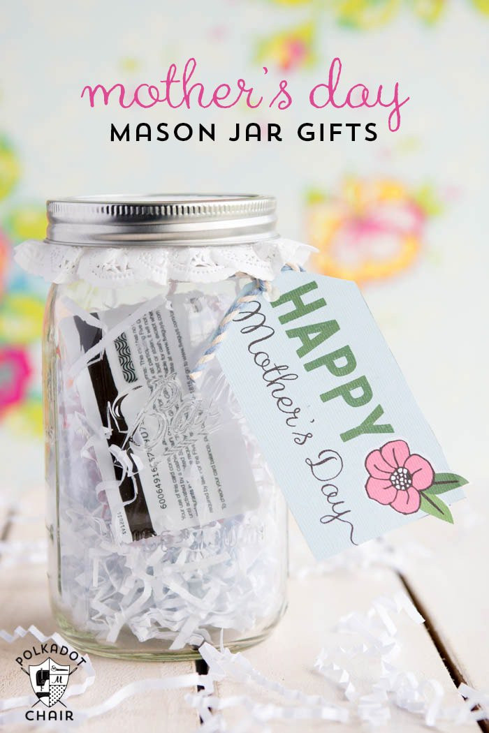 Cute Mothers Day Gift Ideas  Last Minute Mother s Day Gift Ideas & Cute Mason Jar Gifts