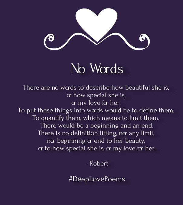 Deep Romantic Quotes  Deep Love Poems for Her