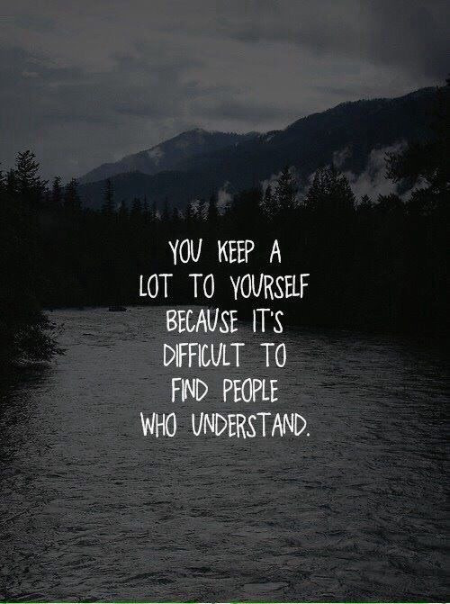 Deep Sad Quotes  am deep quotes sad thoughts image by
