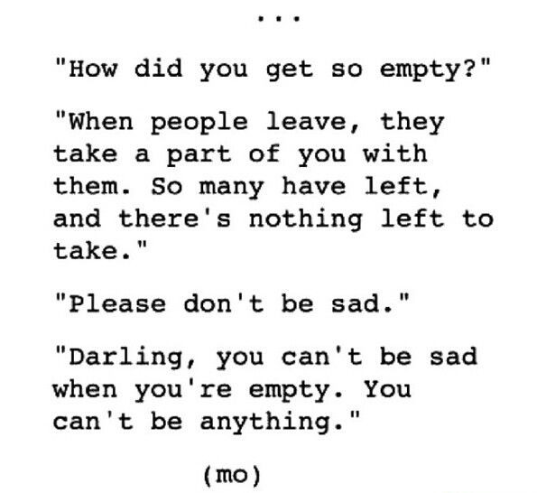 Deep Sad Quotes  Pin by Elizabeth Johnson on Quotes to live by that I love