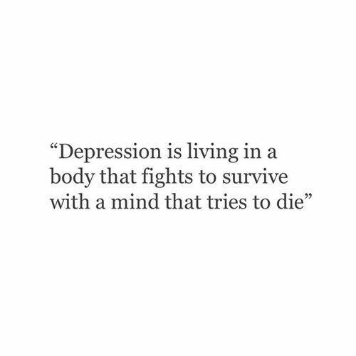 Deep Sad Quotes  depression Words Pinterest