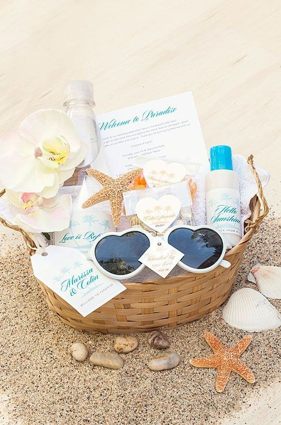 Destination Wedding Gift Ideas  Cutest wel e t for the destination beach wedding