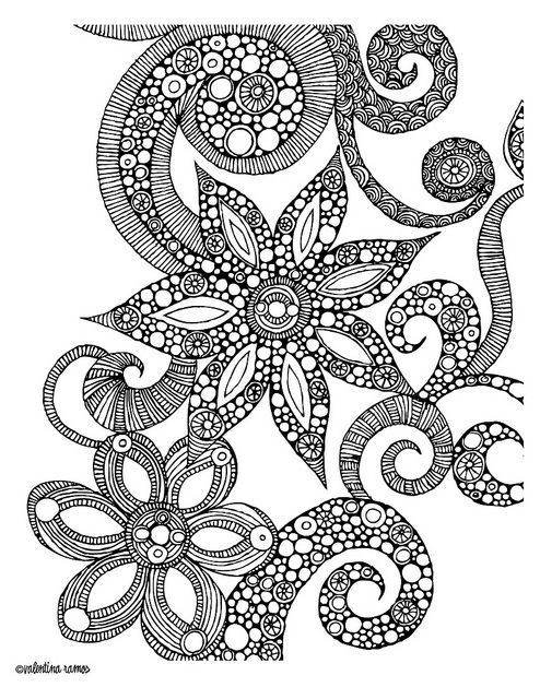 Detailed Coloring Pages Of Girls  detailed coloring pages for teenage girls Google Search