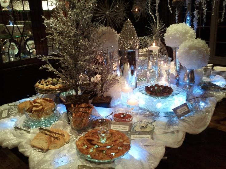 Dinner Party Ideas Winter  61 best images about winterwonderland ideas on Pinterest