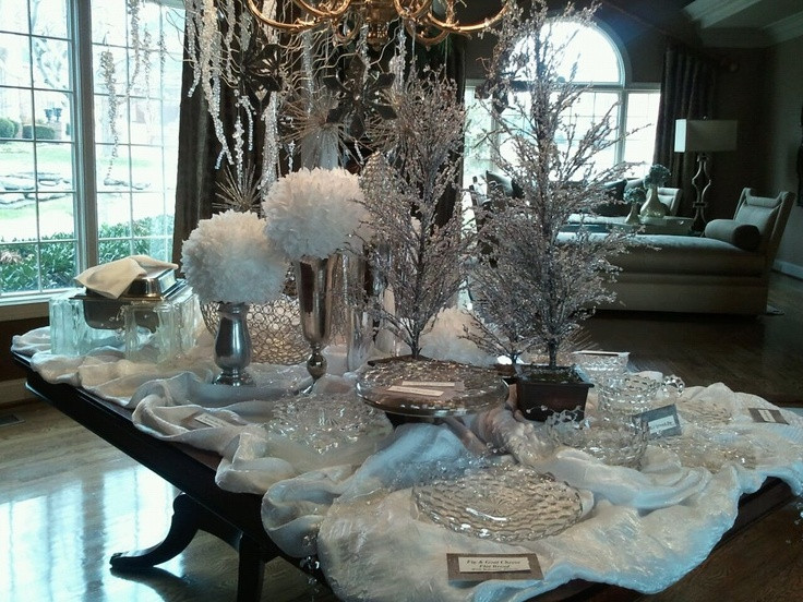 Dinner Party Ideas Winter  8 best Winter Wonderland Party images on Pinterest