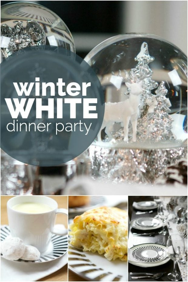 Dinner Party Ideas Winter  Winter White Dinner Party Spaceships and Laser Beams