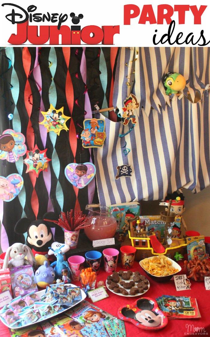Disney Birthday Decorations  Disney Junior Party Ideas
