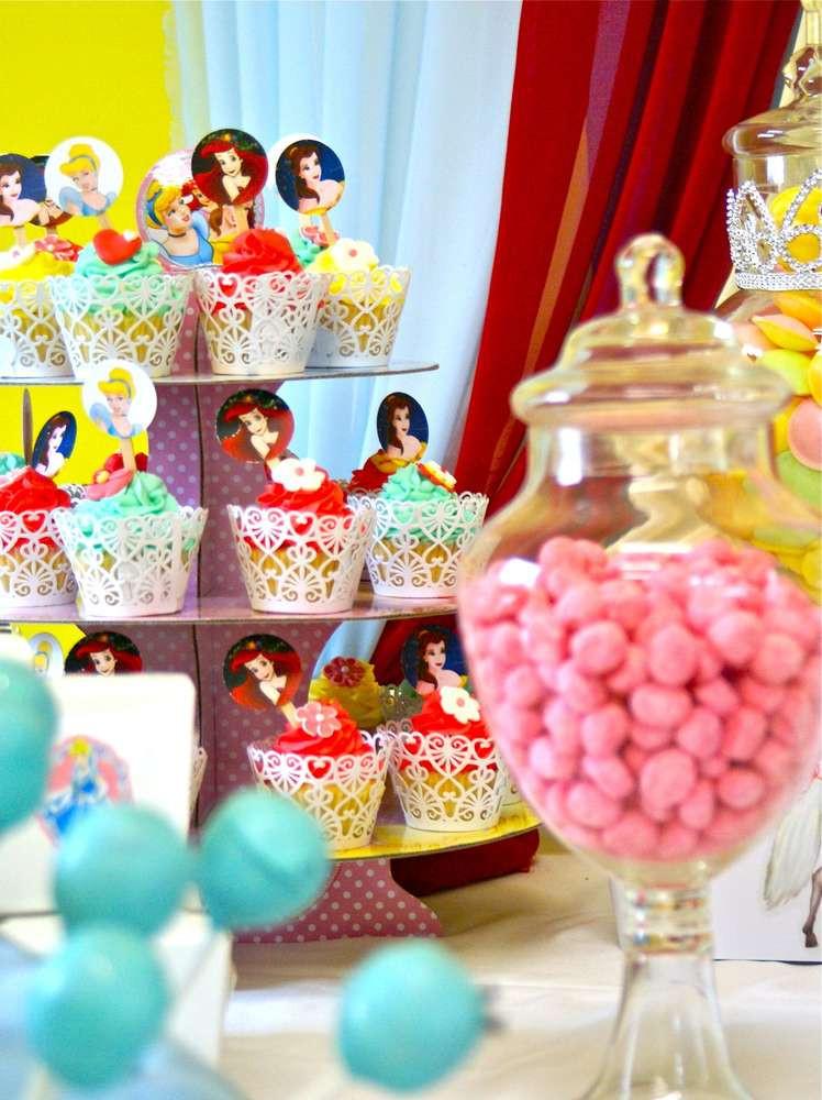 Disney Birthday Decorations  Disney Princess Birthday Party Ideas